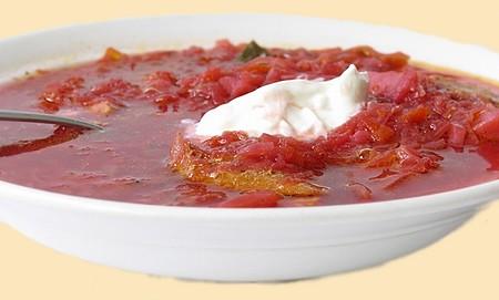 как сварить вкусный красный борщ с мясом украинский рецепт