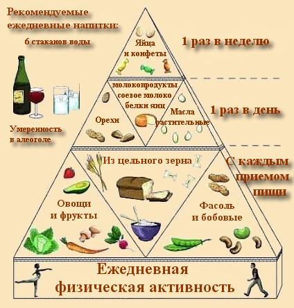 сбалансированное питание для похудения меню