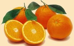 Оранжевые плоды