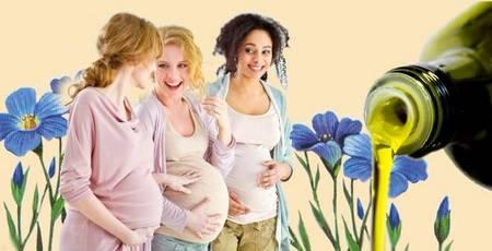 Льняное масло для женщин: польза и вред